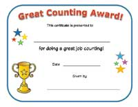 great counting certificate