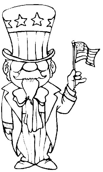 Patriot Day Coloring Pages 4th of july coloring pages