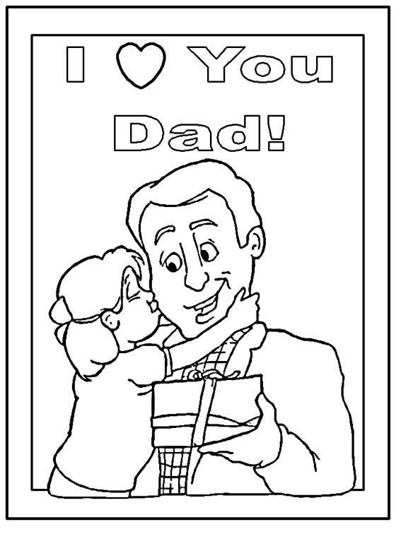 view fathers day coloring