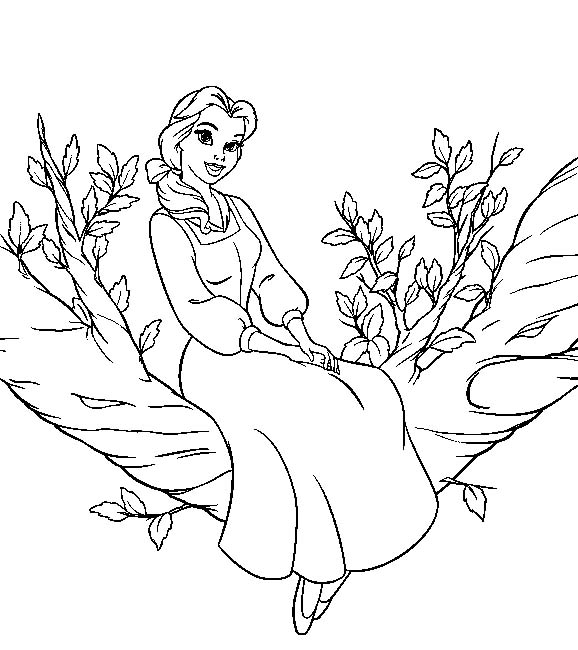 Princess Coloring Pages Print Princess Pictures to Color at Sleeping Beauty Castle Coloring Pages