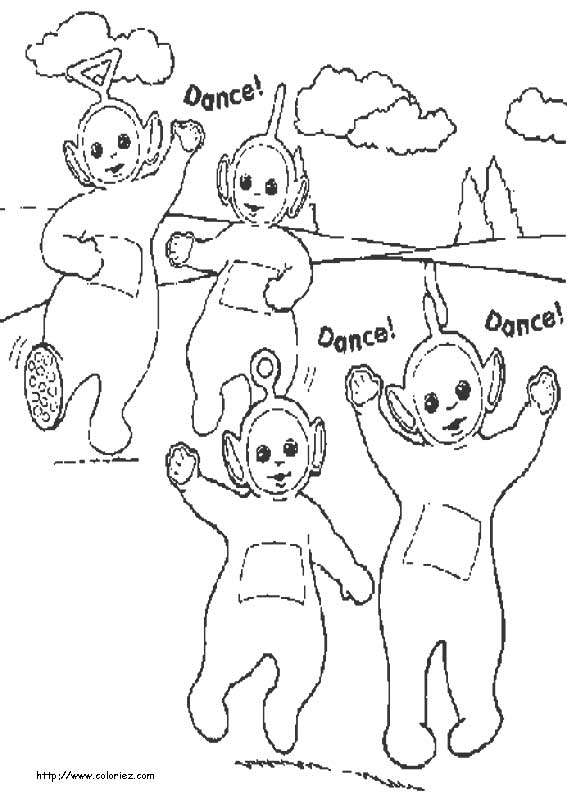 view dance teletubbies