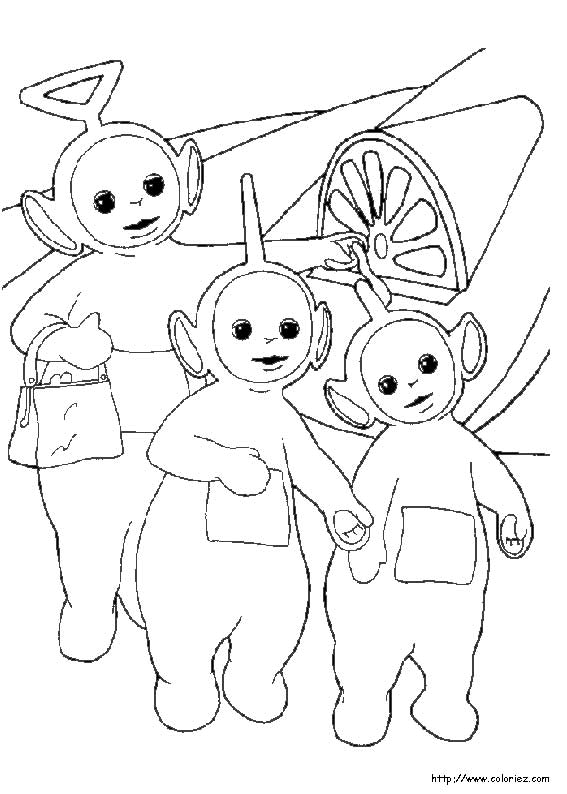 Teletubbies Coloring Pages - AllKidsNetwork.com