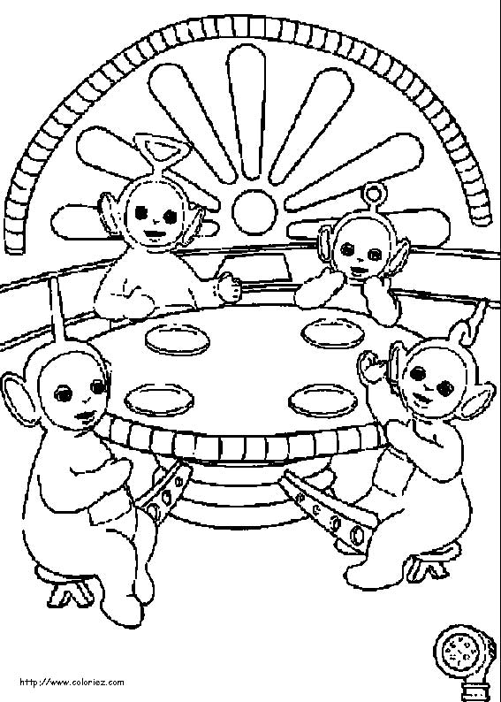 view teletubbies eat snack