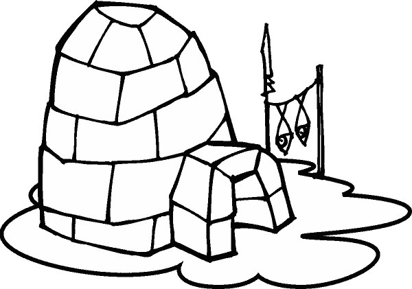 view igloo coloring