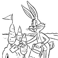 looney tunes thanksgiving coloring pages - photo#19