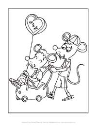 you and me valentine's day coloring page