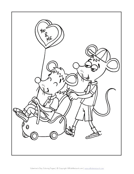 all kids network coloring pages - photo#4