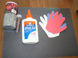 handprint fireworks materials