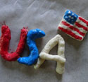 4th of july magnets craft
