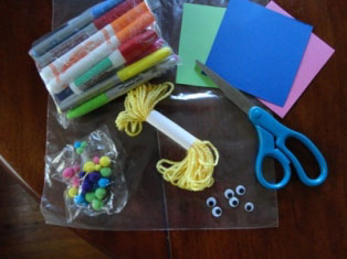 alphabet buddies craft materials
