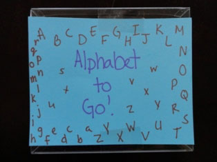 alphabet book step 8