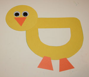 alphabet duck craft