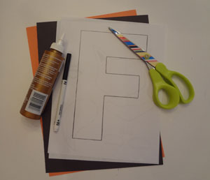 letter f fox craft materials