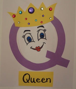 Letter Q Queen Craft | All Kids Network