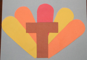 letter t turkey step 4