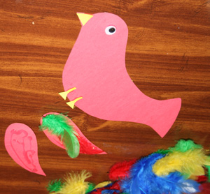 kids bird craft