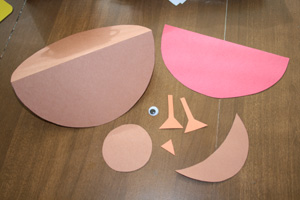 bird craft materials