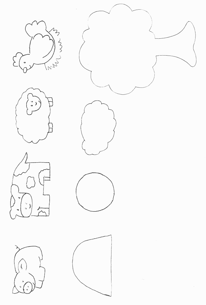 templates for animals