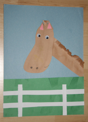 kids horse craft