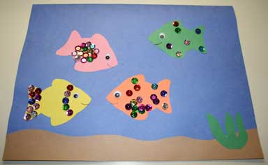 aquarium fish craft