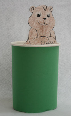 groundhog craft for kids