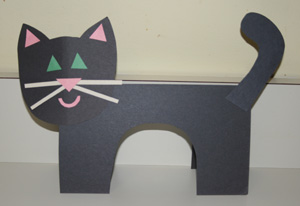 kids cat craft