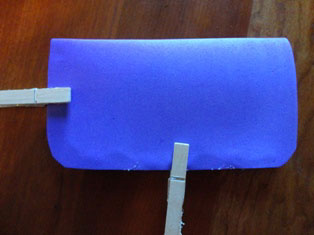 eyeglasses case craft
