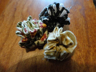 fabric flowers craft