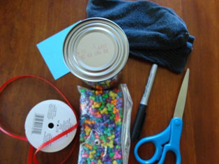 soup can pencil holder craft materials