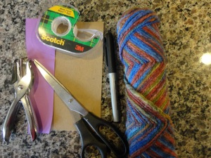 proverbs doll craft materials