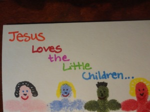 kids jesus craft