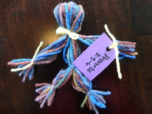 proverbs doll craft