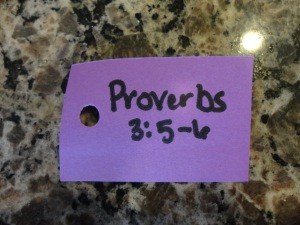 proverbs craft