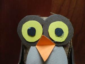 owl craft face