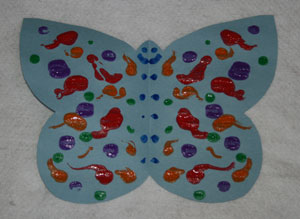 butterfly spring craft