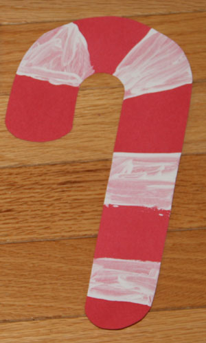 peppermint candy cane craft