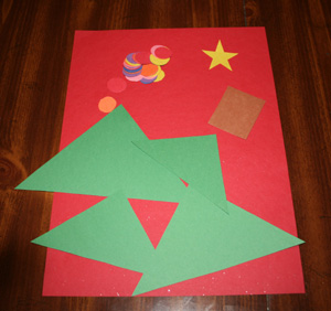 christmas tree craft supplies