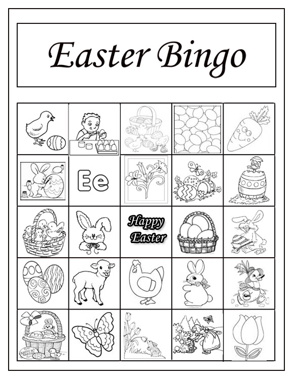 Lucrative image throughout printable easter activities