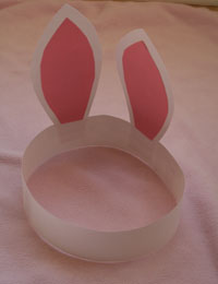 kids easter bunny craft