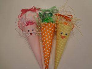 easter cones craft