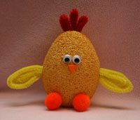 baby chick craft