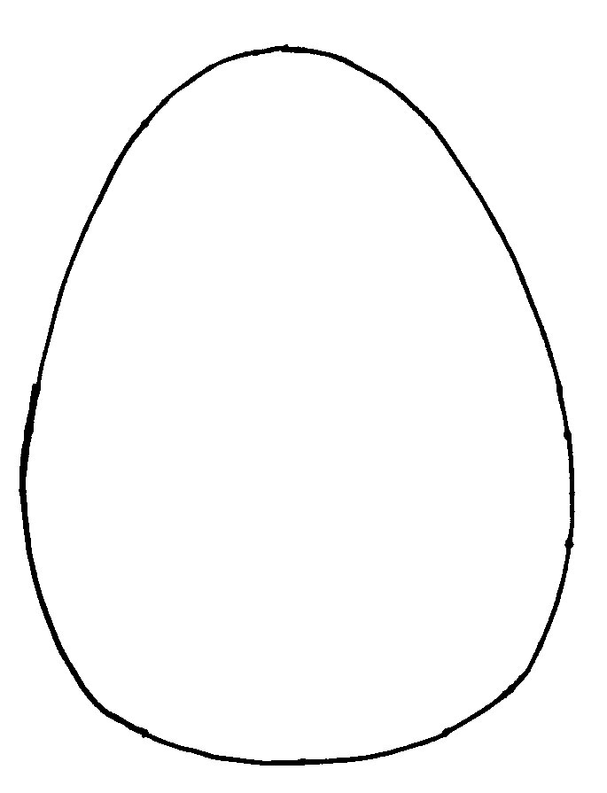 easter egg template - photo #28
