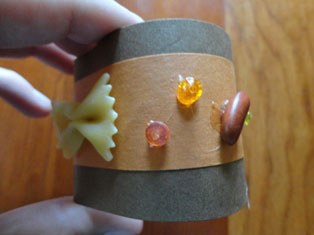 kids fall napkin rings craft