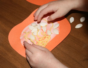 toddler pumpkin craft