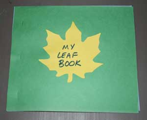 leaves book craft