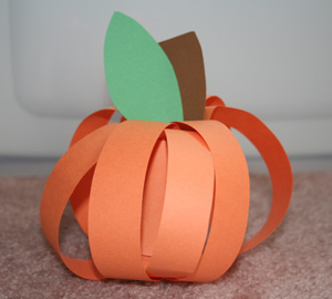 pumpkin craft for autumn