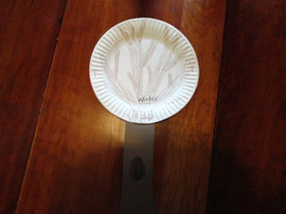 tree paper plate craft