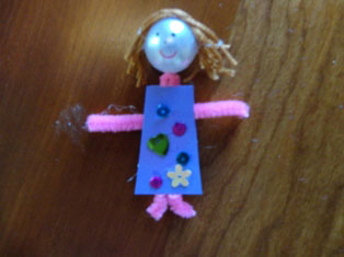 fairy doll craft step 3