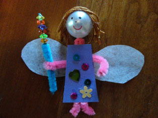 fairy doll craft