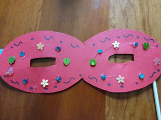 costume mask craft